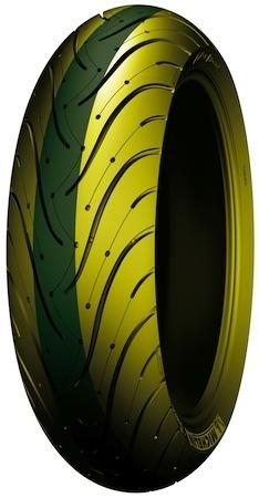 Et si Michelin faisait des pneus bicolore afin de prévenir de l'usure des pneus. Car la couleur centrale s'use cela serait une alerte.
