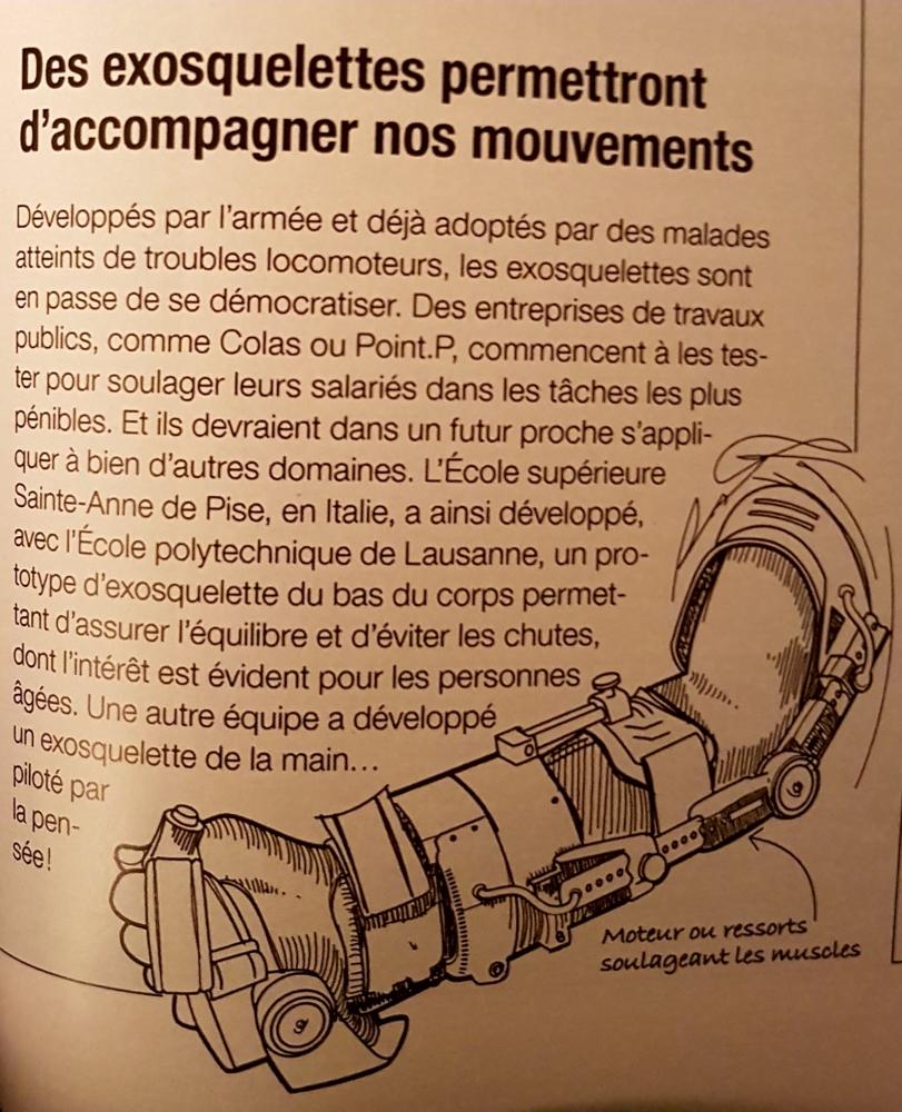 Et si des exosquelettes en location pour sécuriser les mouvements