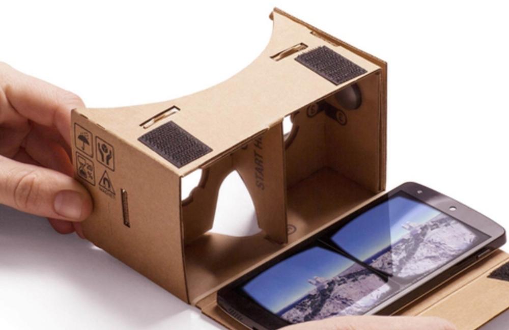 Et si des cardboards inclus dans les instructions avec les vidéos adéquates