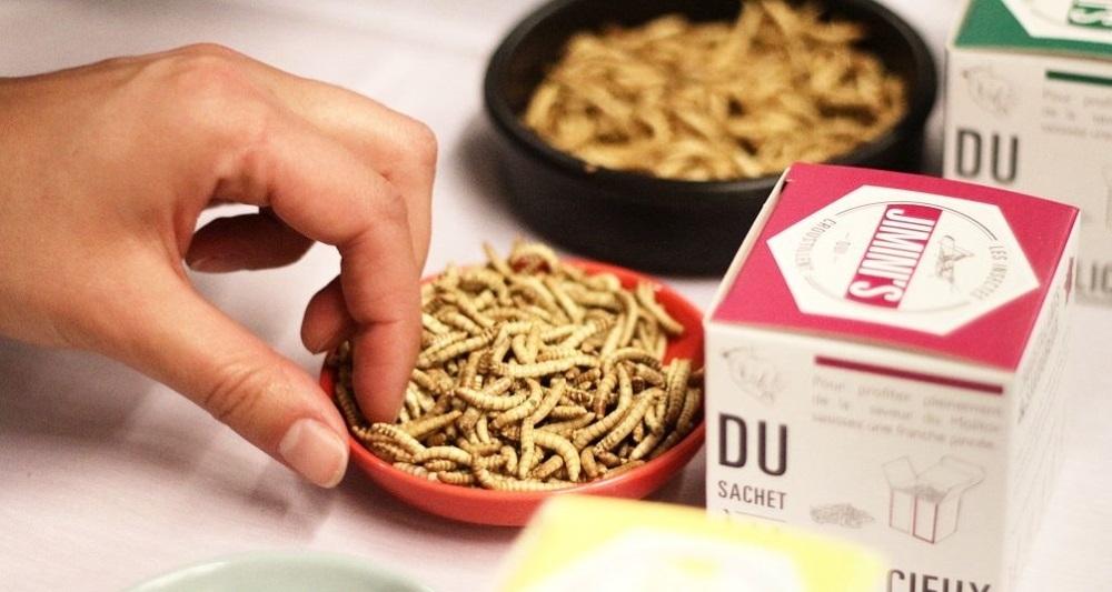 Et si Auchan commençait à distribuer des produits alimentaires à base d'insectes ?
