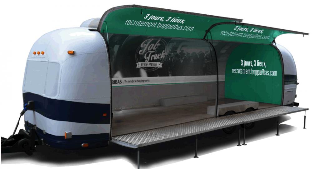 """Et si Mazars proposait un """"Job Truck"""" à son effigie, et qui voyagerait de campus en campus à travers toute la France?"""