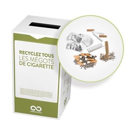 Et si les fabricants de cigarettes encourageaient les fumeurs à retourner leur paquets plein de mégots contre une réduction ?