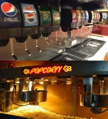 Et si dans les galleys il y avait des distributeurs automatiques de boisson et de popcorn. Car pour beaucoup : Voyage en avion = Cinéma :) !