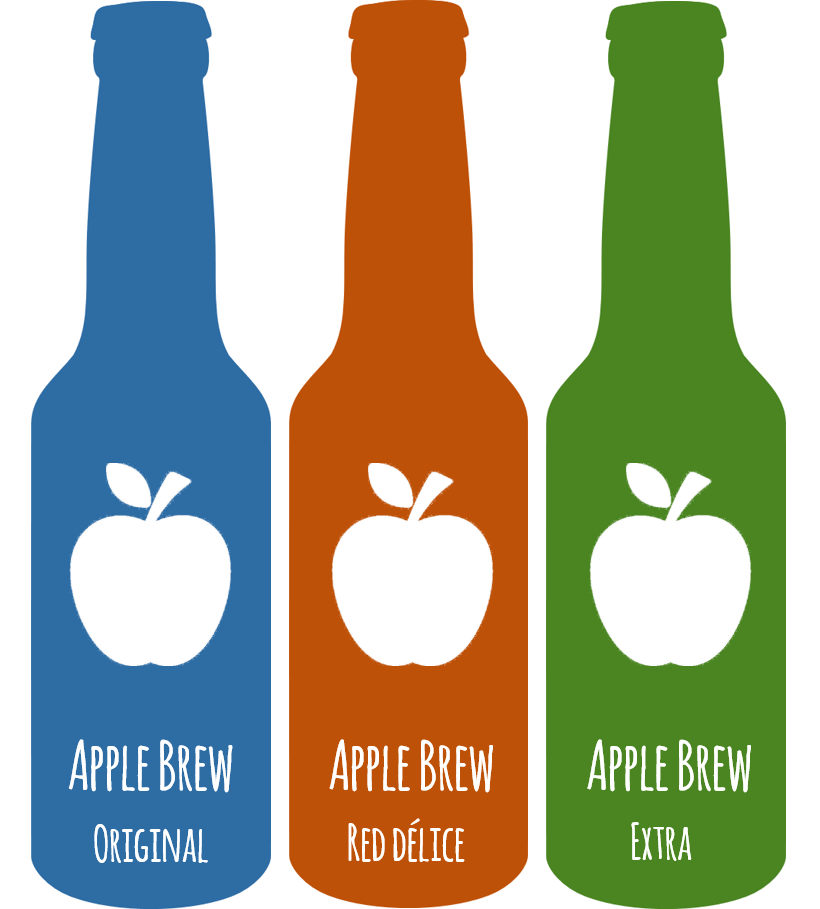 "Et si le nom du French Cider était Applebrew. ""Fresher than beer, Better than cider"""