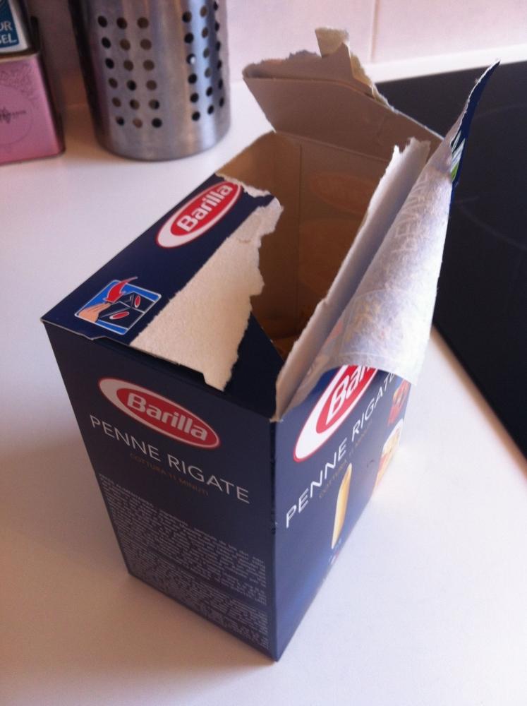 Et si on pouvait enfin avoir une ouverture facile pour les paquets de pates?