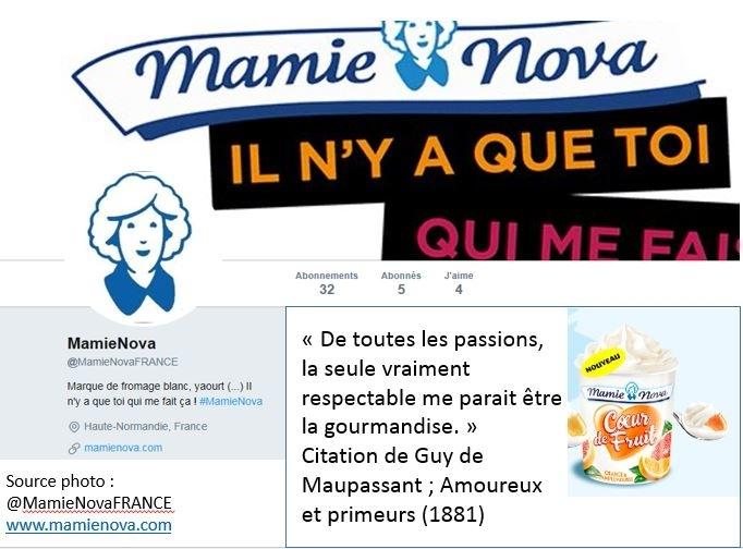 Et si Mamie Nova postait tous les matins, sur les réseaux sociaux,  un petit mot insolite pour bien démarrer la journée ?