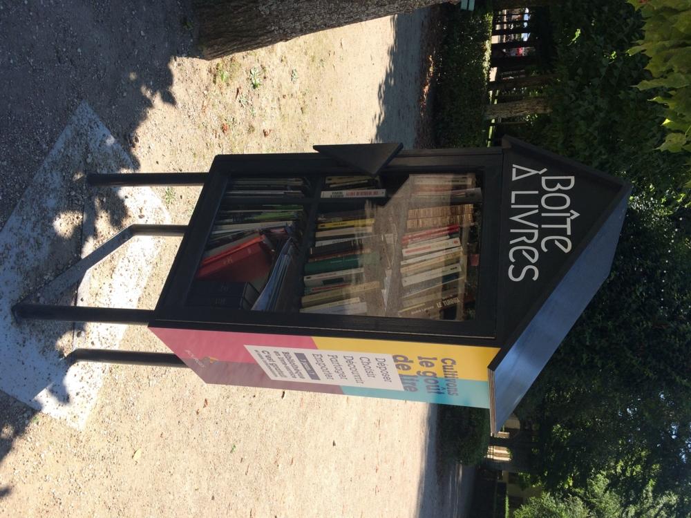 Et si les boites à livres se démocratisaient dans les villes comme ici à Bourges ?