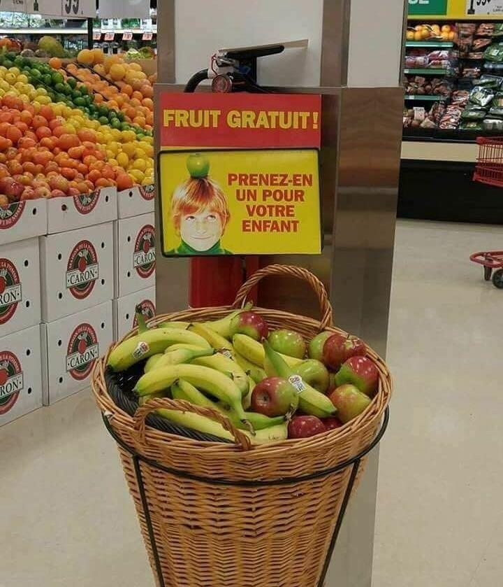 Et si on pensait à ça (cf photo) pour éviter le gaspillage alimentaire ? Auchan  Monoprix Casino Lidl