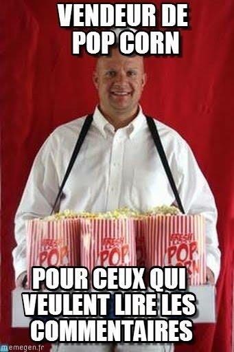 Et si ??faisait des happenings dans les cinéma comme les anciens vendeurs de popcorn en vendant des desserts ?