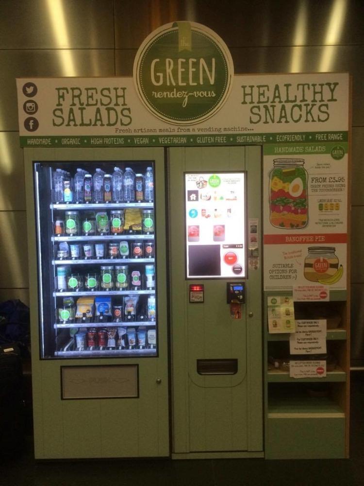 """Et si la Sncf installait des distributeurs automatiques """"healthy"""" dans les grands abris quais pour promouvoir une alimentation saine ?!"""