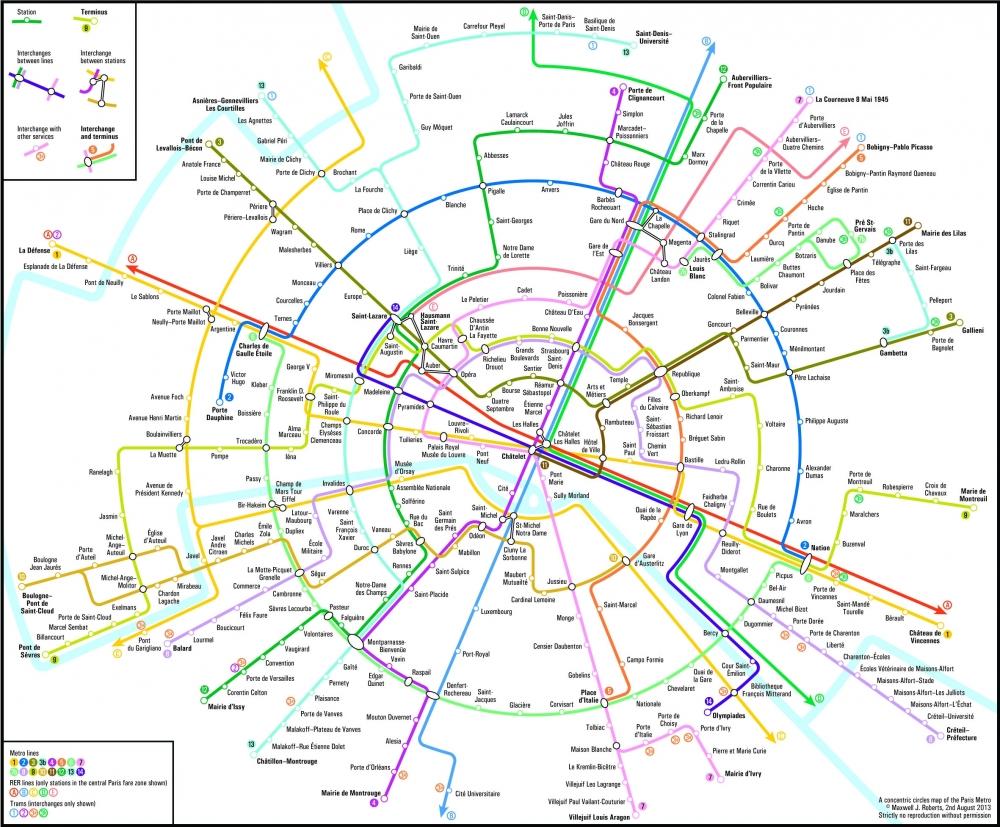 Et si la RATP utilisait le plan de Max Roberts ?