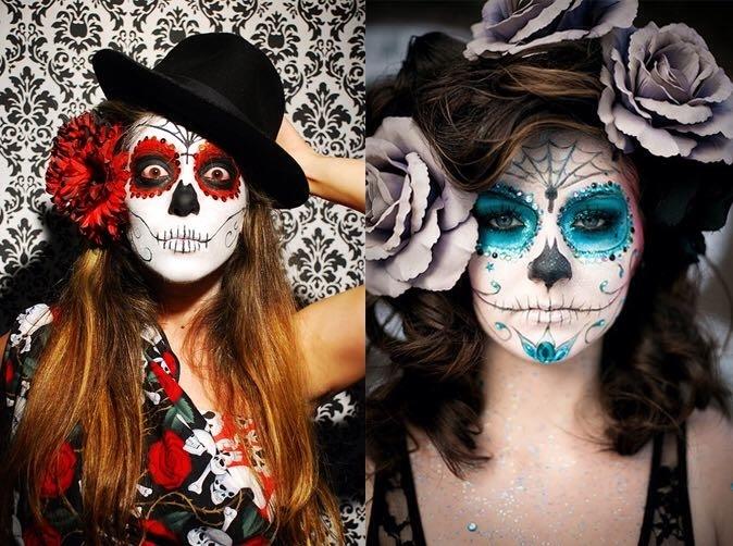 Et si Grévin Paris fêtait en fait le Halloween mexicain, Día de los Mortes, fête macabre mais joyeuse ! Musique, costumes, maquillage...