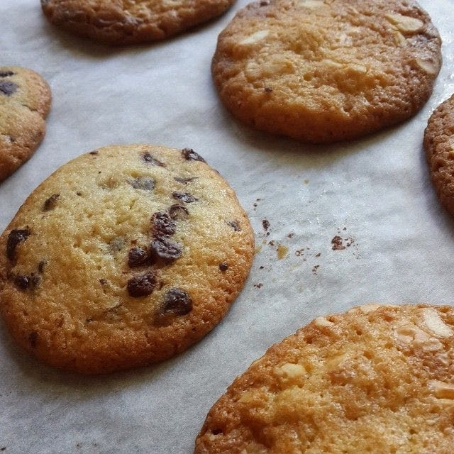 """Et si La Cookiterie mettait une petite vidéo """"en accéléré"""" pour chaque cookie du mois le montrant cru et devenir un beau cookie gonflé ?"""