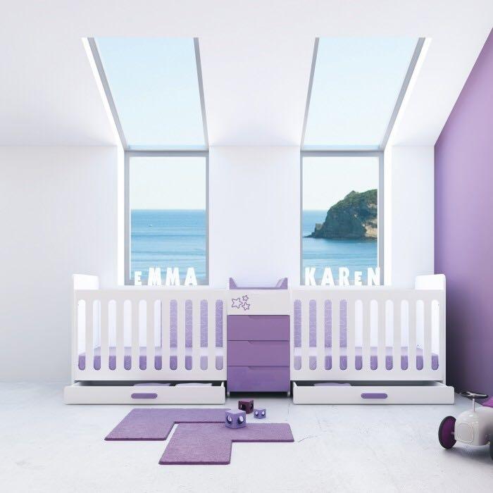 Et si Galipette prenant en considération la hausse des naissances multiples, créait une gamme de mobilier intégré pour bébés jumeaux ?