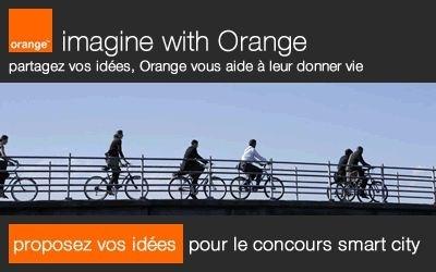 Et si vos brainees rendaient les villes plus intelligentes? Imagine With Orange vous attend sur #smartcity et vous aide à leur donner vie!