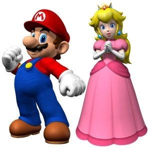 What if Nintendo launched a new game with Princess Peach as the hero rescuing Mario?