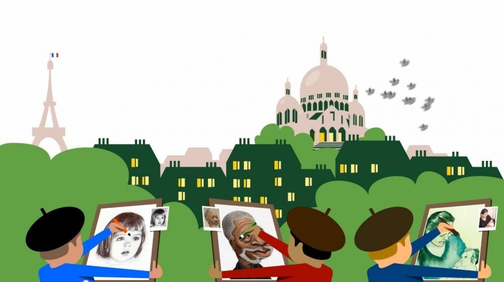 Et si Artistoon était la place du Tertre du web, illimitée et accessible à tous Ville de Paris ?