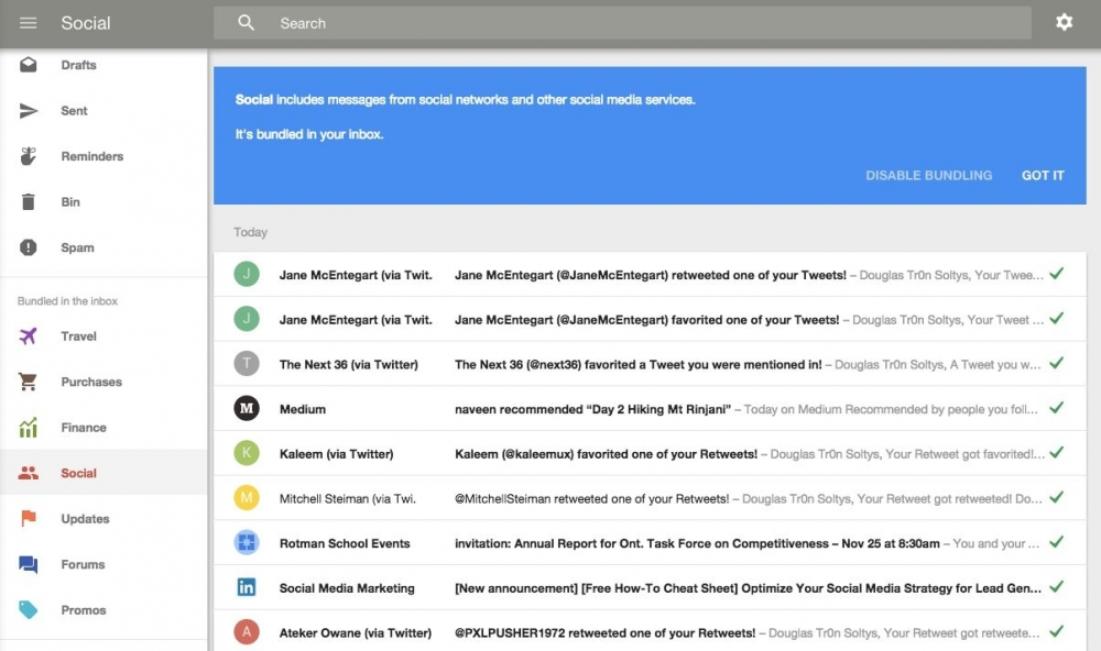 What if Google Inbox would have iPad app besides iPhone?