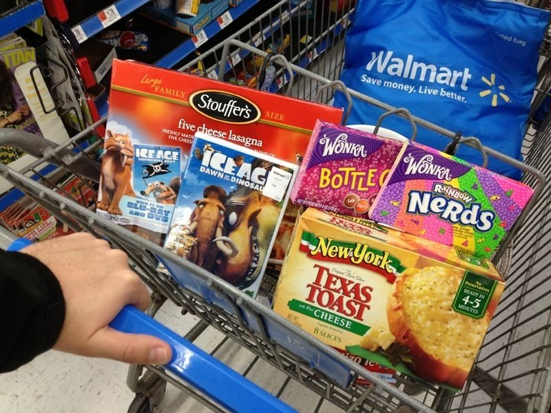 What if we could scan the products we bought at Walmart all at once from our shopping cart?
