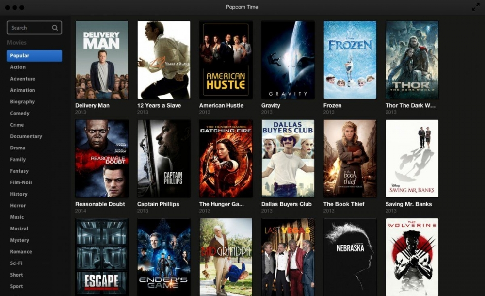 What if when I come back, Popcorn Time showed me on the home page the movie I've not finished yet ?