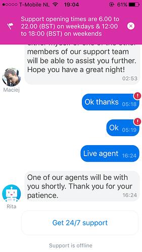 Et si Direct Énergie me proposait un Bot accessible facilement 24h/24 depuis mon téléphone qui m'oriente facilement vers le service client de manière adapté si besoin ?