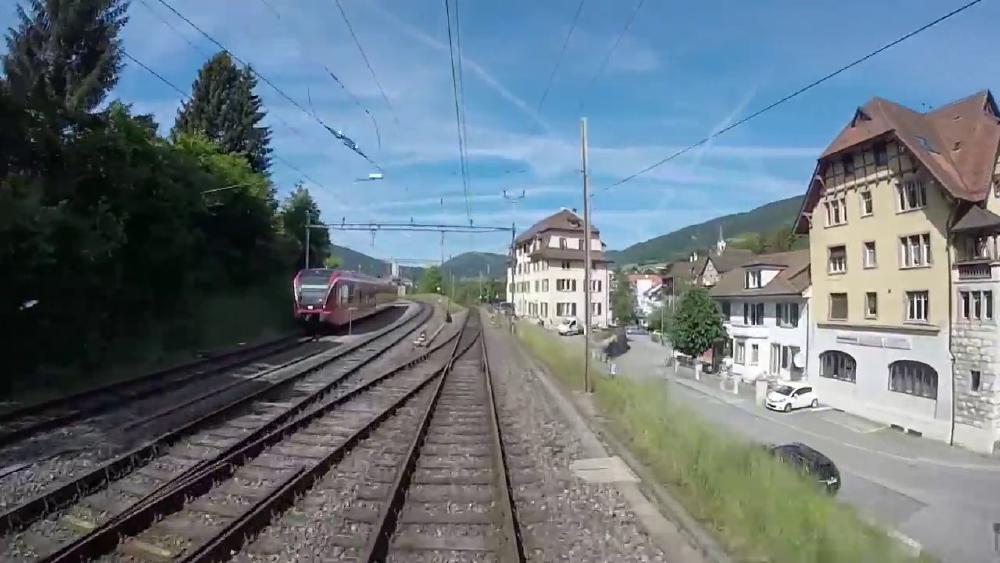 Et si en se connectant au WiFi des trains, on pouvait accéder à une caméra en direct donnant sur l'avant du train ?