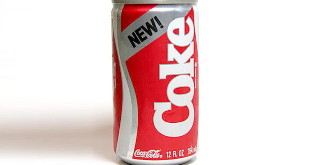 New Coke Failure