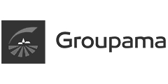 Groupama Logo Black