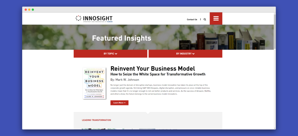 Innosight Insights