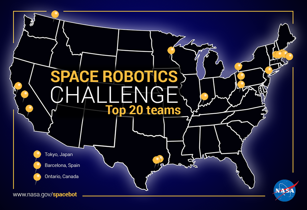 Space Robotics Challenge Finalists