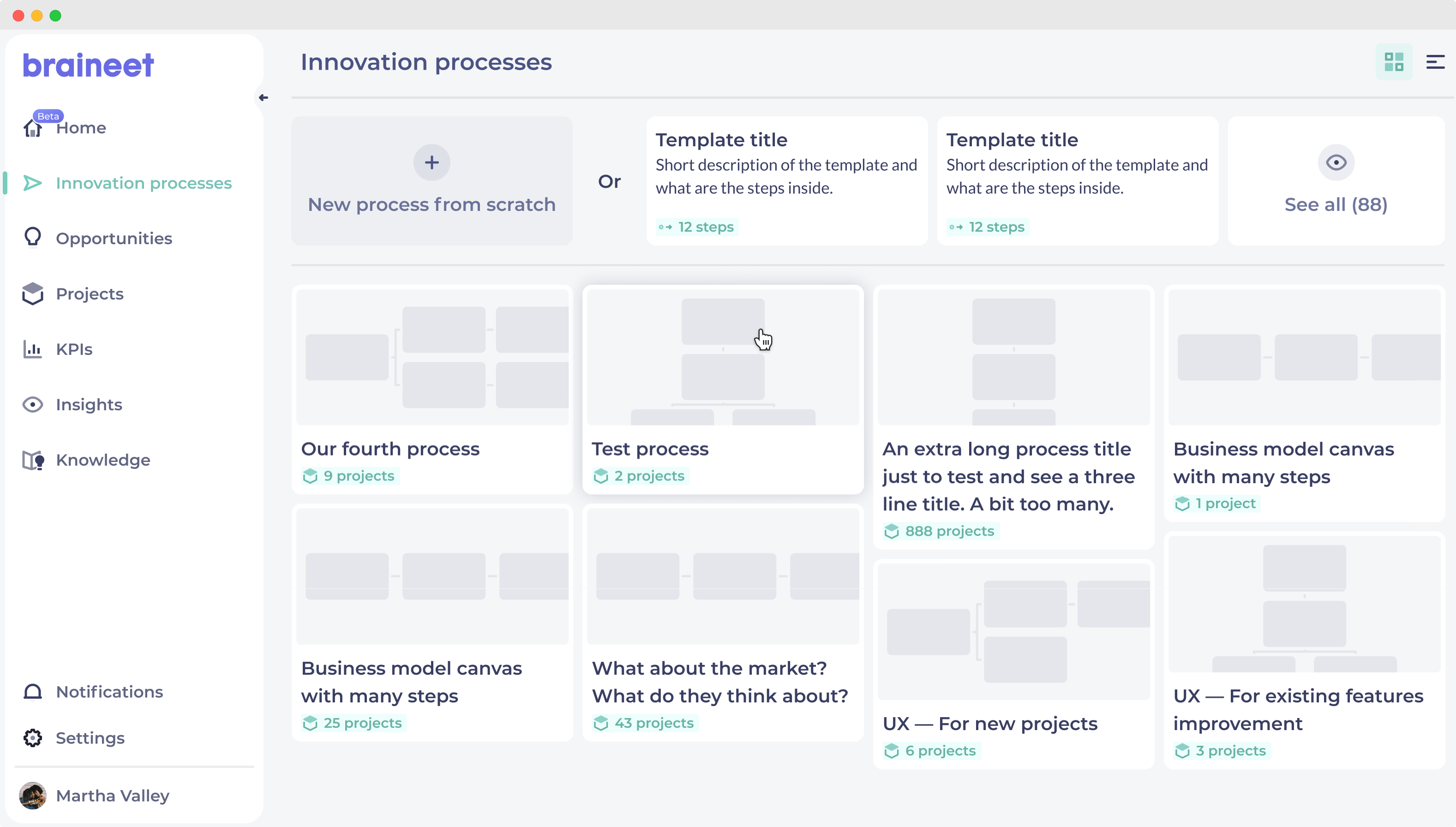 Feature Deploy Innovation Processes